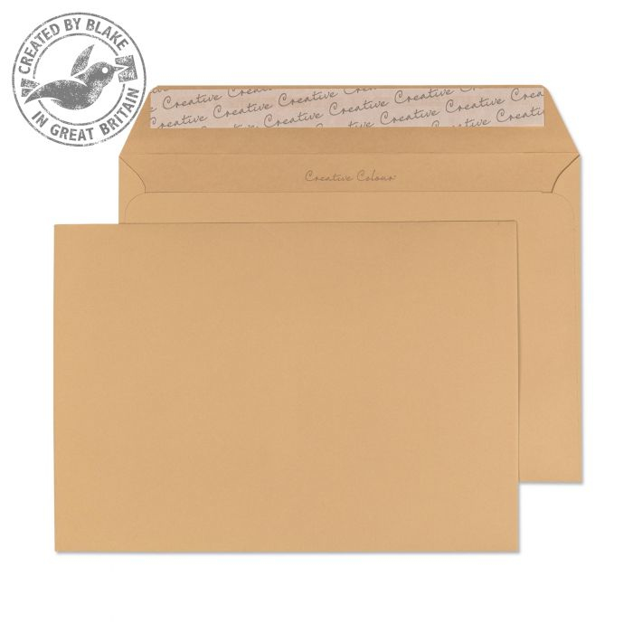 427 Blake Creative Colour Biscuit Beige Peel & Seal Wallet 229X324mm 120Gm2 Pack 250 Code 427 3P- 427