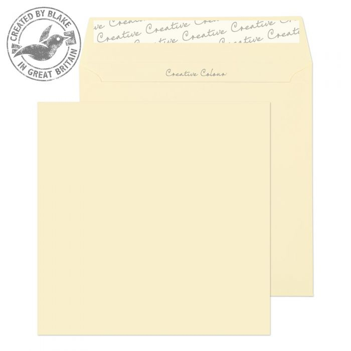 753 Blake Creative Colour Clotted Cream Peel & Seal Square Wallet 155X155mm 120Gm2 Pack 500 Code 753 3P- 753
