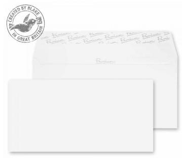 31255 Blake Premium Business Ice White Wove Peel & Seal Wallet 110X220mm 120Gm2 Pack 50 Code 31255 3P- 31255