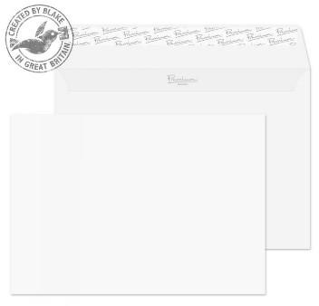 31455 Blake Premium Business Ice White Wove Peel & Seal Wallet 162X229mm 120Gm2 Pack 50 Code 31455 3P- 31455