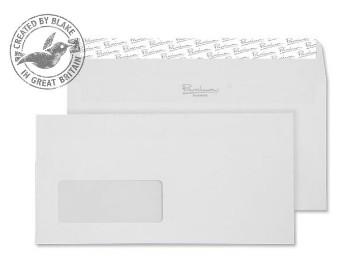35264 Blake Premium Business High White Wove Window Peel & Seal Wallet 110X220mm 120G Pk25 Code 35264 3P- 35264