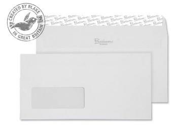 35265 Blake Premium Business High White Wove Window Peel & Seal Wallet 110X220mm 120G Pk50 Code 35265 3P- 35265