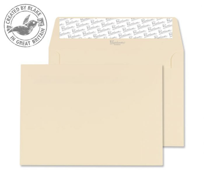 64154 Blake Premium Business Cream Wove Peel & Seal Wallet 114X162mm 120Gm2 Pack 25 Code 64154 3P- 64154