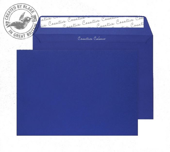 63443 Blake Creative Colour Victory Blue Peel & Seal Wallet 229X324mm 120Gm2 Pack 10 Code 63443 3P- 63443