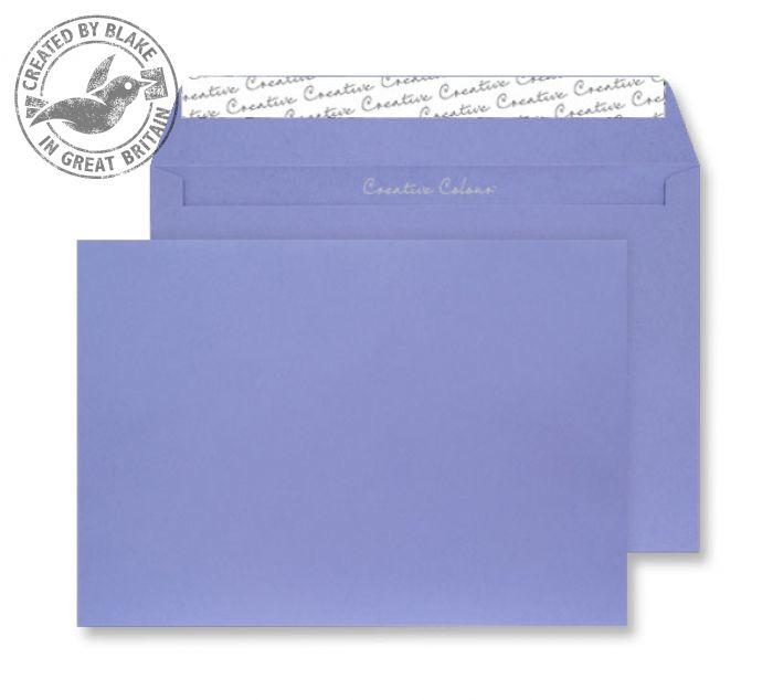 411 Blake Creative Colour Summer Violet Peel & Seal Wallet 229X324mm 120Gm2 Pack 250 Code 411 3P- 411