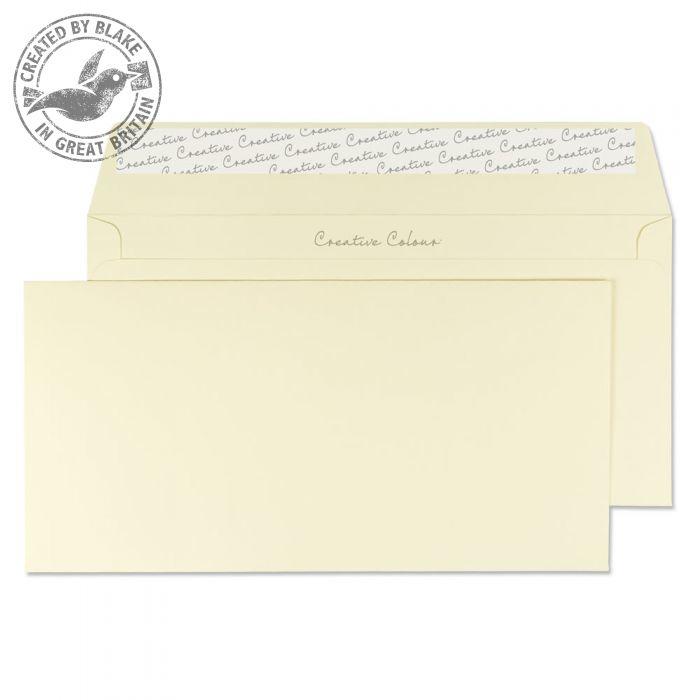 200 Blake Creative Colour Vanilla Ice Cream Peel & Seal Wallet 114X229mm 120Gm2 Pack 500 Code 200 3P- 200