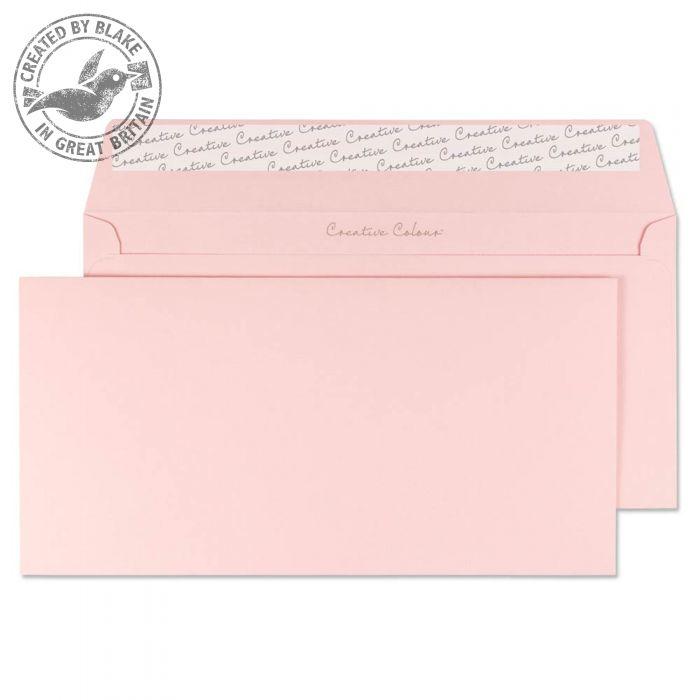 201 Blake Creative Colour Baby Pink Peel & Seal Wallet 114X229mm 120Gm2 Pack 500 Code 201 3P- 201