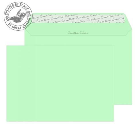 317 Blake Creative Colour Spearmint Green Peel & Seal Wallet 162X229mm 120Gm2 Pack 500 Code 317 3P- 317