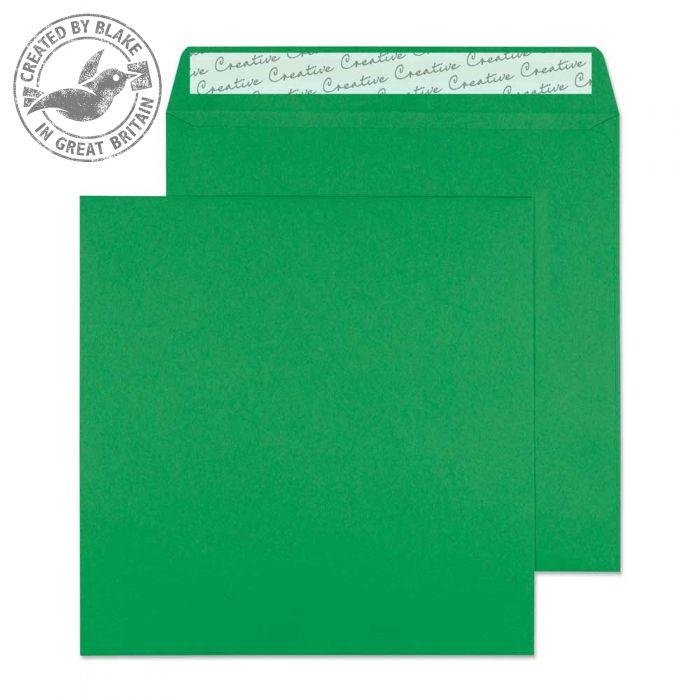 608 Blake Creative Colour Avocado Green Peel & Seal Square Wallet 160X160mm 120Gm2 Pack 500 Code 608 3P- 608