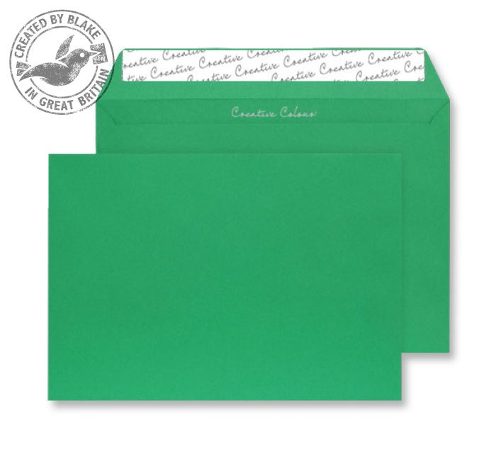 408 Blake Creative Colour Avocado Green Peel & Seal Wallet 229X324mm 120Gm2 Pack 250 Code 408 3P- 408