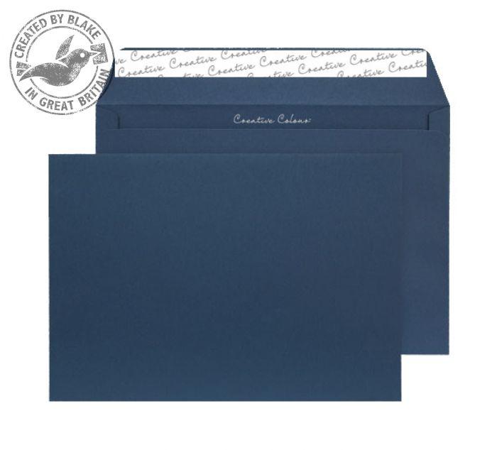 320 Blake Creative Colour Oxford Blue Peel & Seal Wallet 162X229mm 120Gm2 Pack 500 Code 320 3P- 320
