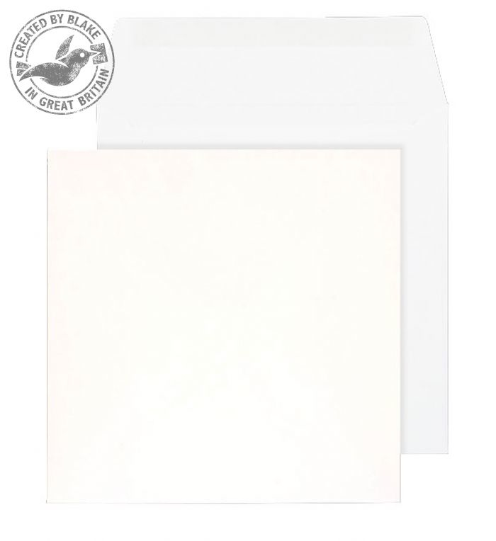 0120SQ Blake Purely Everyday White Gummed Square Wallet 120X120mm 100Gm2 Pack 500 Code 0120Sq 3P- 0120SQ