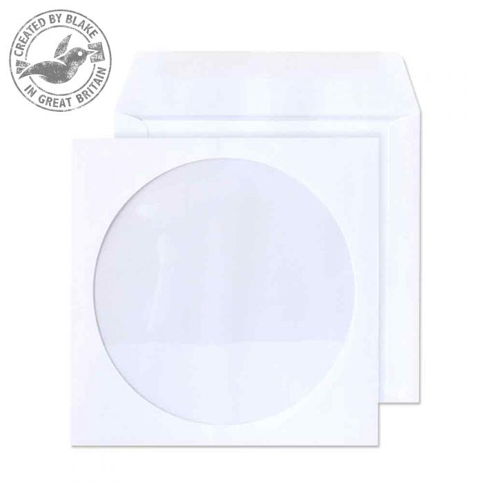 4210TUC Blake Purely Everyday White Gummed Cd Wallet 125X125mm 90Gm2 Pack 1000 Code 4210Tuc 3P- 4210TUC
