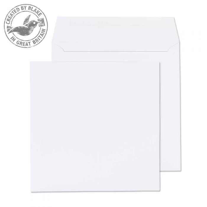 0240SQ Blake Purely Everyday White Gummed Square Wallet 240X240mm 100Gm2 Pack 250 Code 0240Sq 3P- 0240SQ