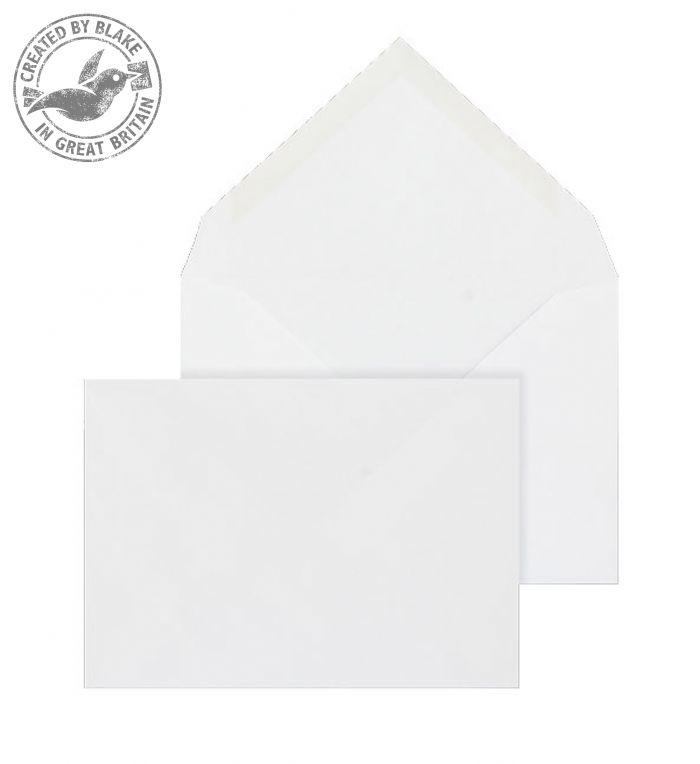 2002 Blake Purely Everyday White Gummed Banker Invitation 114X162mm 100Gm2 Pack 1000 Code 2002 3P- 2002