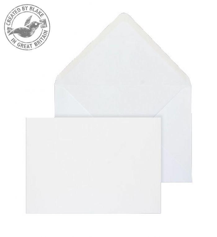 2005 Blake Purely Everyday White Gummed Banker Invitation 133X197mm 100Gm2 Pack 1000 Code 2005 3P- 2005