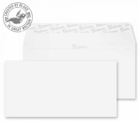 31882 Blake Premium Business Ice White Wove Peel & Seal Wallet 110X220mm 120Gm2 Pack 500 Code 31882 3P- 31882