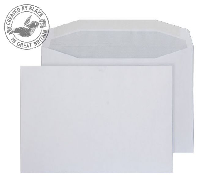 016M Blake Purely Everyday White Gummed Mailer 162X229mm 90Gm2 Pack 500 Code 016M 3P- 016M