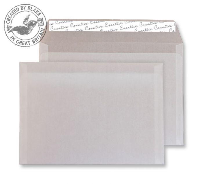 ICE615 Blake Creative Senses Translucent White P&S Tear Resistant Wallet 162X229 90G Pk250 Code Ice615 3P- ICE615