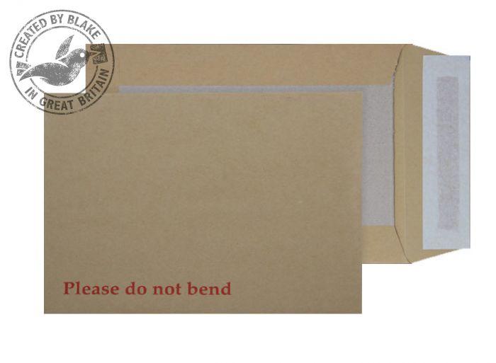 5112 Blake Purely Packaging Manilla Peel & Seal Board Back Pocket 229X162mm 120Gm2 Pack 125 Code 5112 3P- 5112