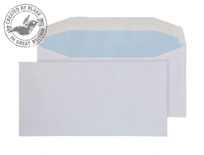 3701 Blake Purely Everyday White Gummed Mailer 110X220mm 90Gm2 Pack 1000 Code 3701 3P- 3701