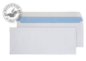 3401 Blake Purely Everyday White Gummed Mailer 127X310mm 100Gm2 Pack 250 Code 3401 3P- 3401