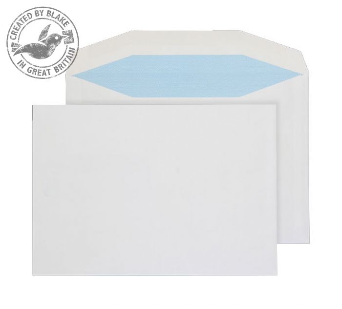 3707 Blake Purely Everyday White Gummed Mailer 162X229mm 90Gm2 Pack 500 Code 3707 3P- 3707