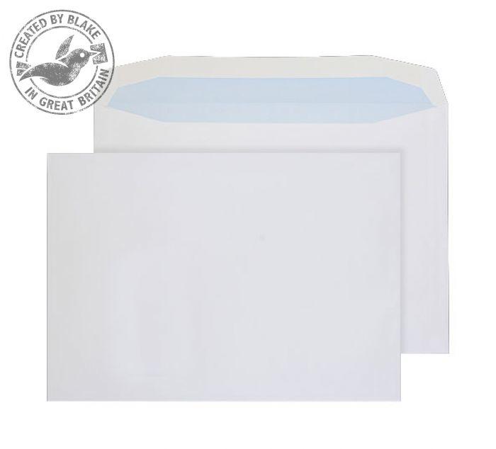 3709 Blake Purely Everyday White Gummed Mailer 229X324mm 100Gm2 Pack 250 Code 3709 3P- 3709