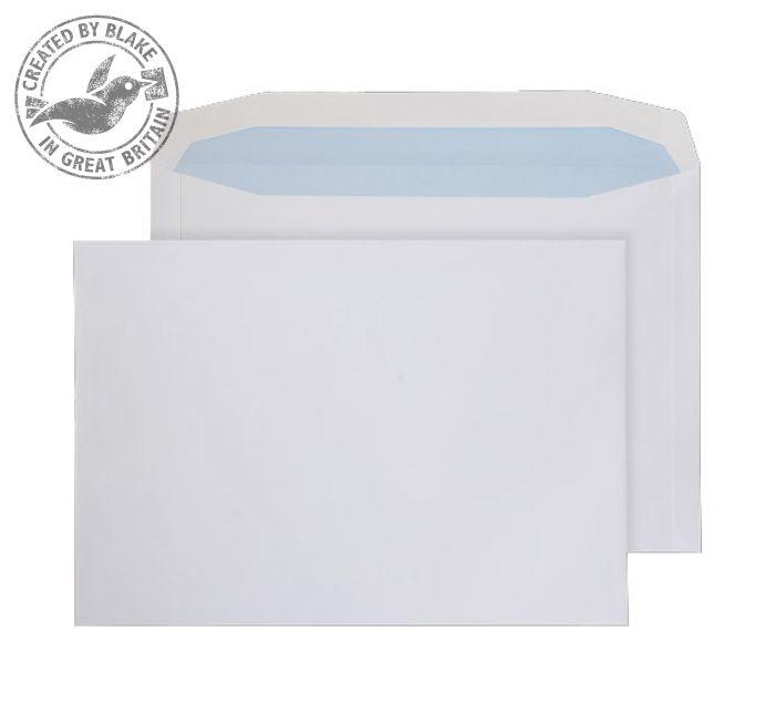 6709 Blake Purely Everyday White Gummed Mailer 229X324mm 120Gm2 Pack 250 Code 6709 3P- 6709