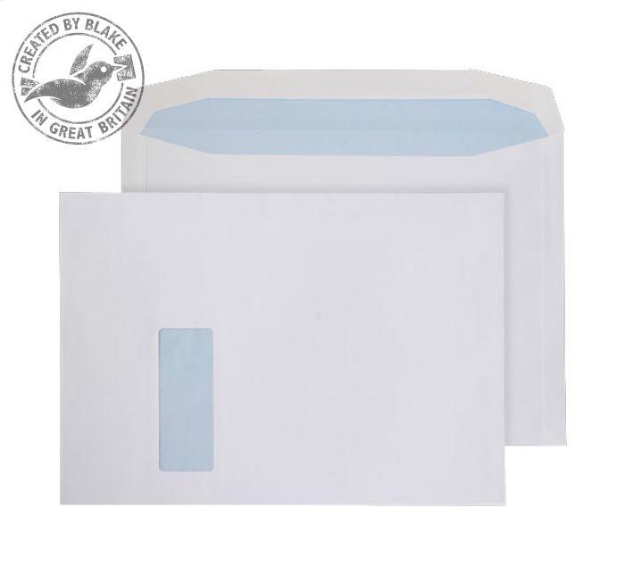 6710 Blake Purely Everyday White Window Gummed Mailer 229X324mm 120Gm2 Pack 250 Code 6710 3P- 6710