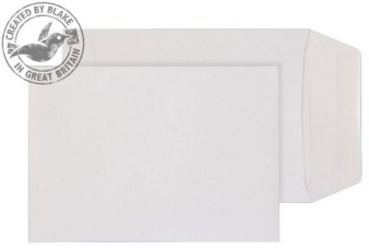 16920 Blake Purely Everyday White Gummed Pocket 162X114mm 90Gm2 Pack 1000 Code 16920 3P- 16920