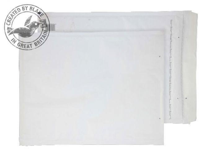 J/6 Blake Purely Packaging White Peel & Seal Padded Bubble Pocket 300X430mm 90Gm2 Pack 50 Code J/6 3P- J/6