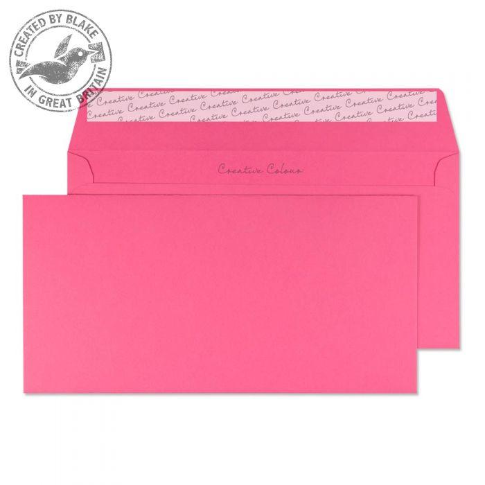 202 Blake Creative Colour Flamingo Pink Peel & Seal Wallet 114X229mm 120Gm2 Pack 500 Code 202 3P- 202