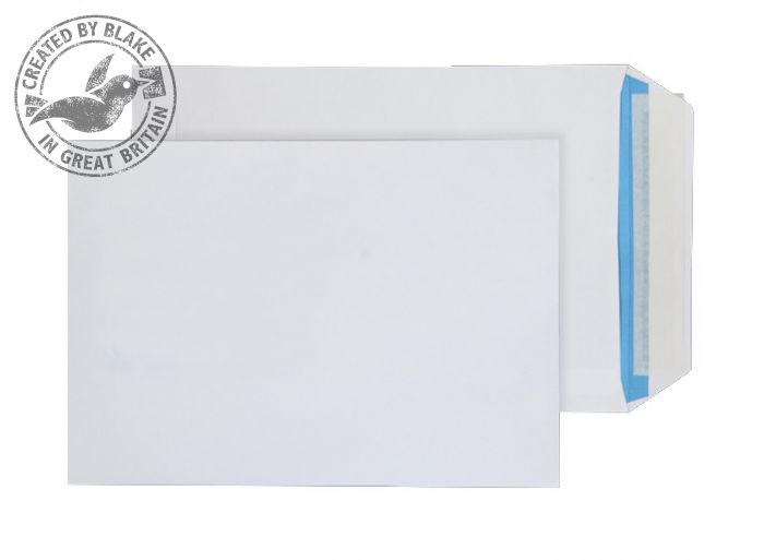 FSC065 Blake Purely Environmental White Peel & Seal Pocket 229X162mm 110Gm2 Pack 500 Code Fsc065 3P- FSC065