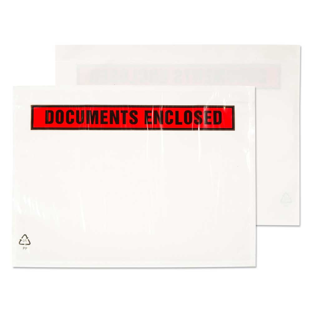 blake envelopes Blake A7 123x111mm Printed Document Enclosed Wallet Pk1000 Pde12 - AD01