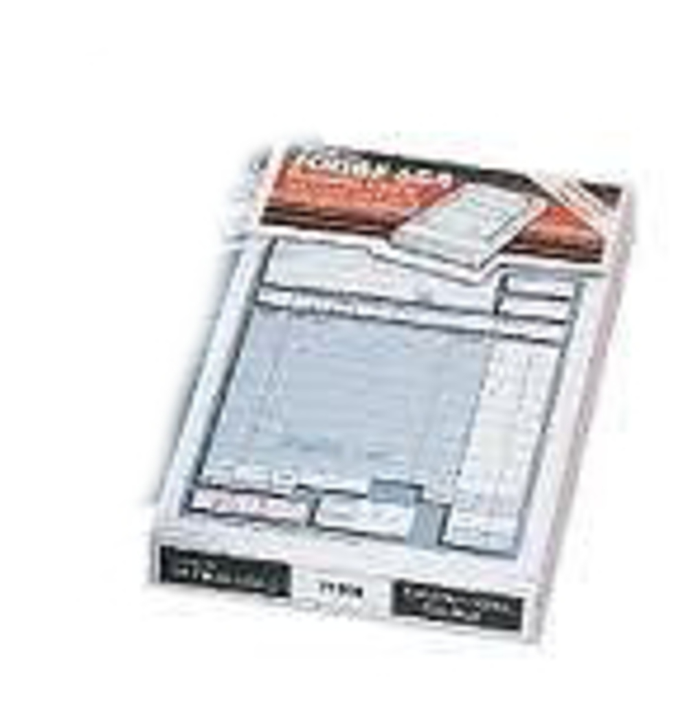 acco Twinlock Scribe 855 Sales Receipt 3-part 75 Sheets 71707 71707 - AD01