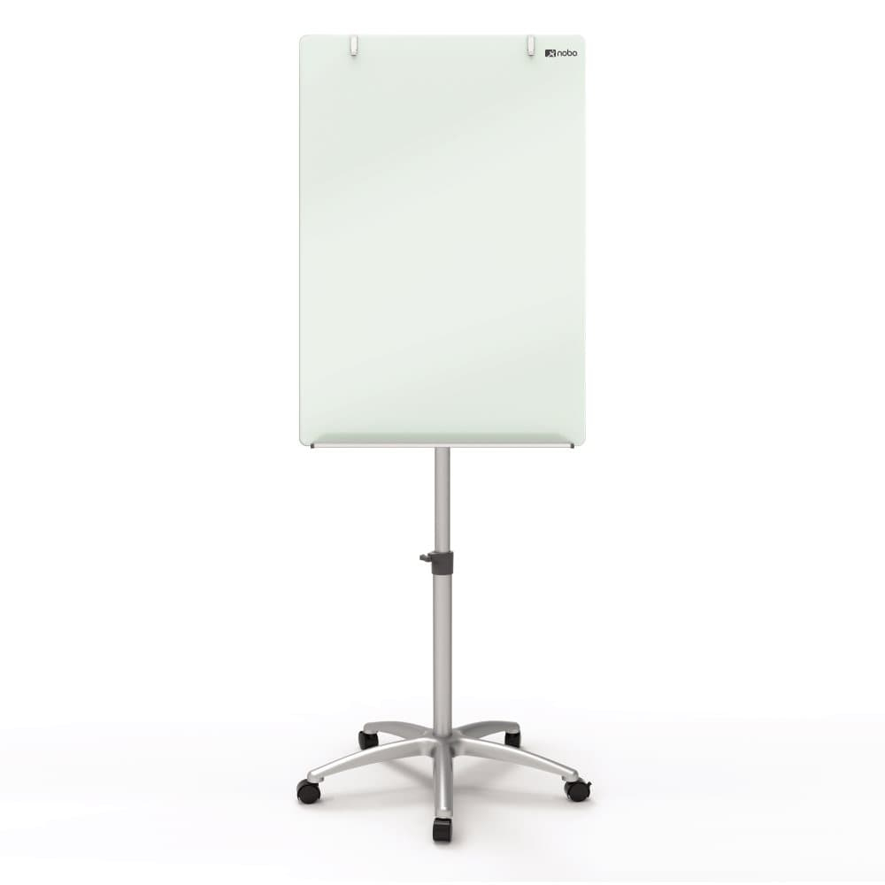 acco Nobo Glass Mobile Easel 700x1000mm Dd 1903949 - AD01
