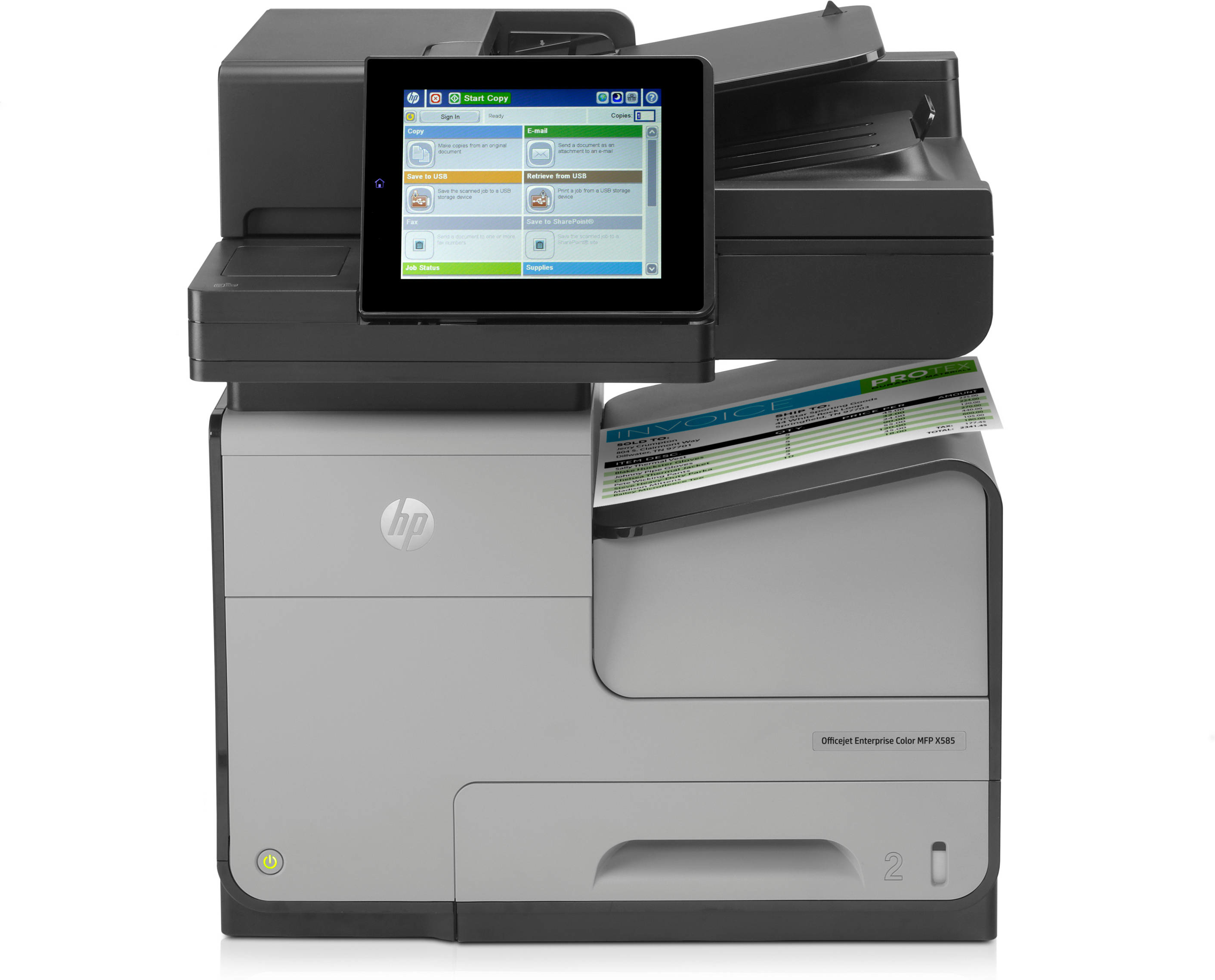 B5L04A HP OfficeJet Enterprise Color MFP X585dn - Refurbished