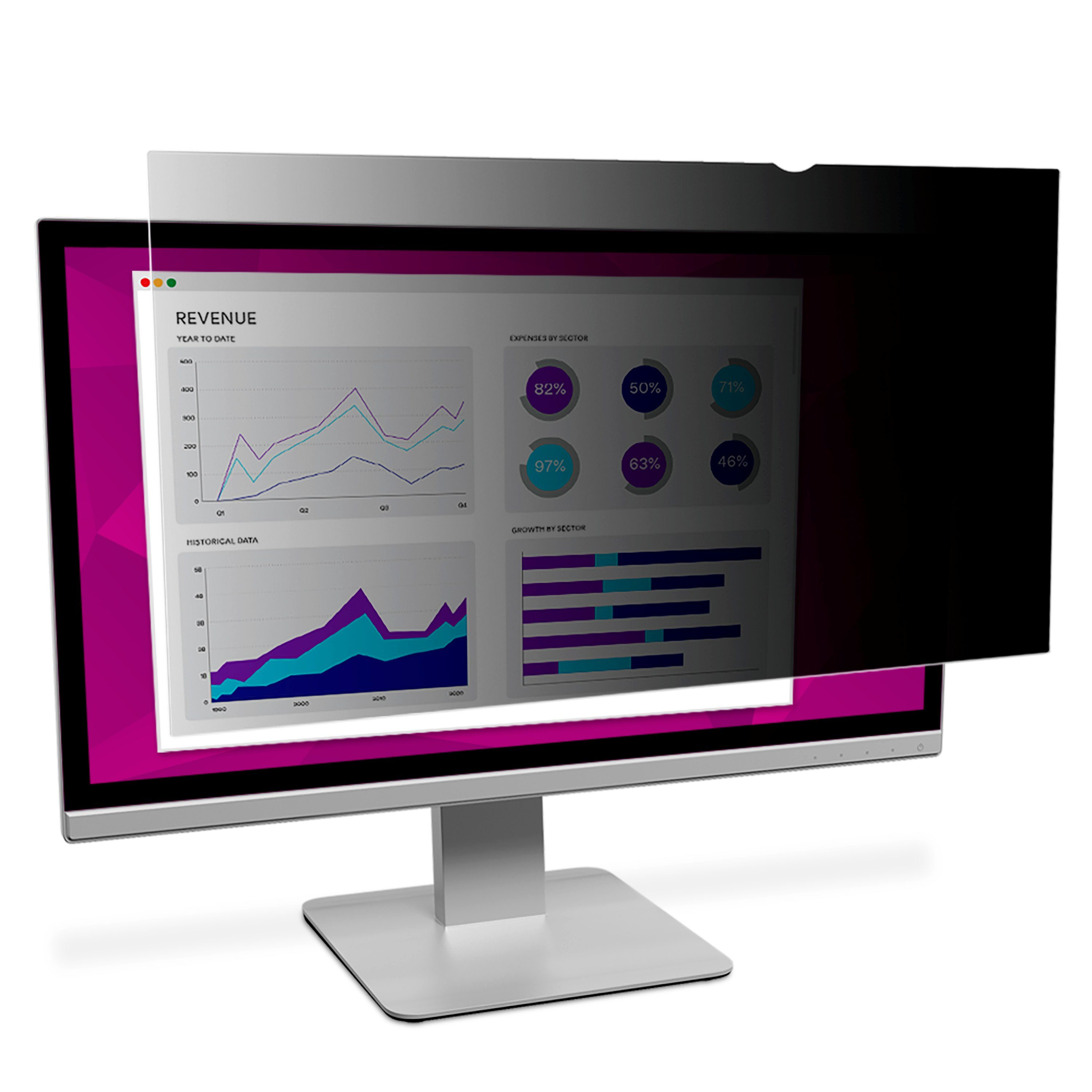 "3M High Clarity Privacy Filter For 27.0"" Widescreen Monitor 98044065542 - eet01"