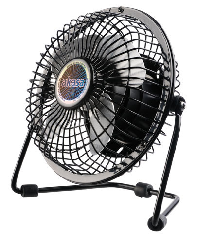 Akasa Usb Mini Desk Fan Ak-ufn01-bk - NA01