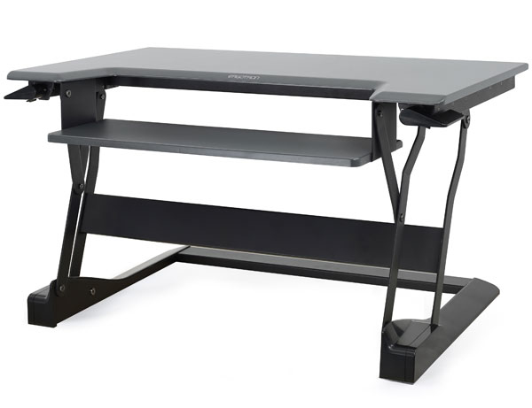 Ergotron                         Stand Table Top/workfit-t Black                                      In 33-397-085