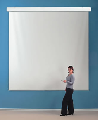 213514 Large Format Screens, Electric 400x400cm 1:1 213514 - C2000