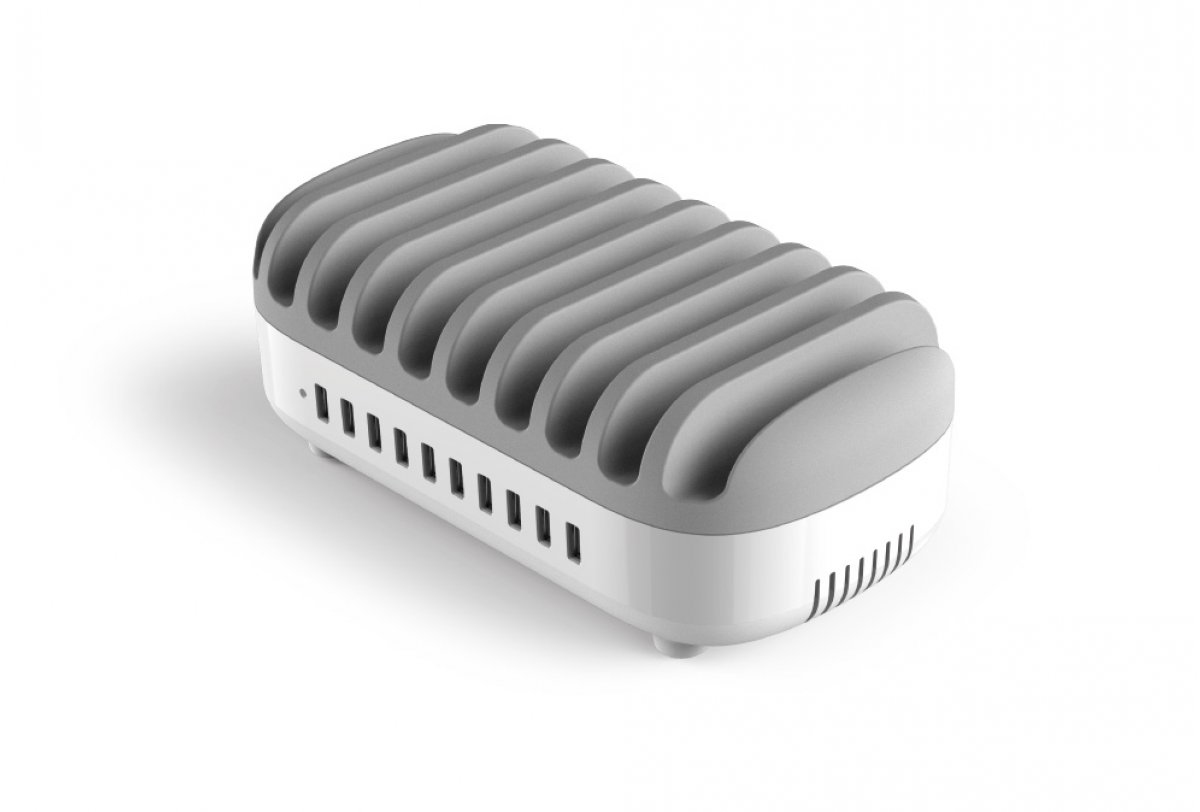 Compulocks - Accs                10portusb Chargind Dock Station     White Eu Plugs                   In 10pusbdks-eu