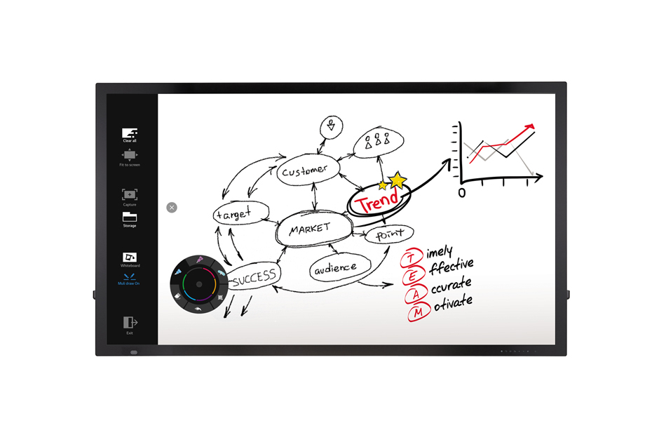 lg electronics 75tc3d 75in Interactive Touch Display 75tc3d - AD01