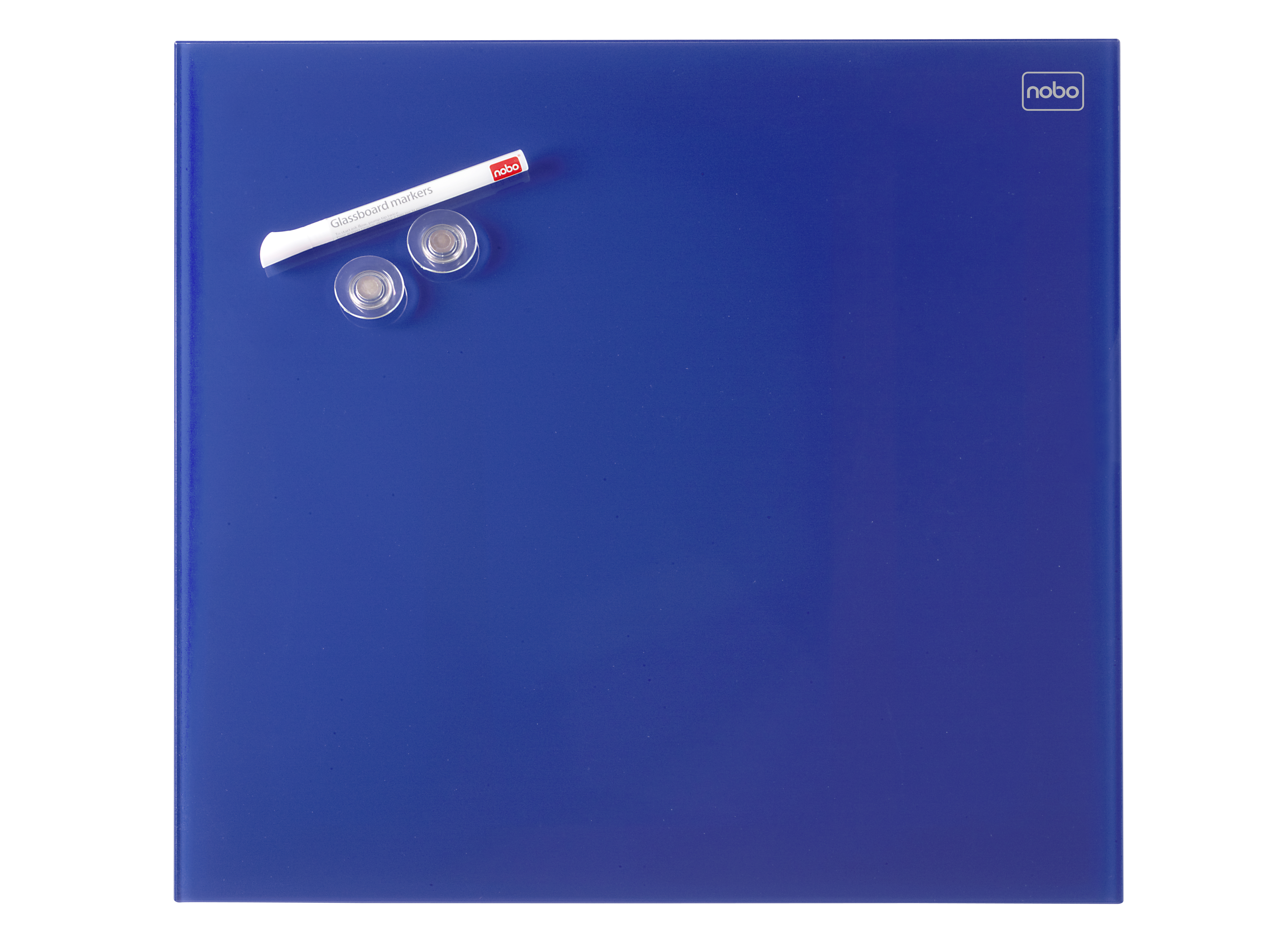 acco Nobo Diamond Drywipe Board Magnetic 300x300mm Blue Dd 1903952 - AD01