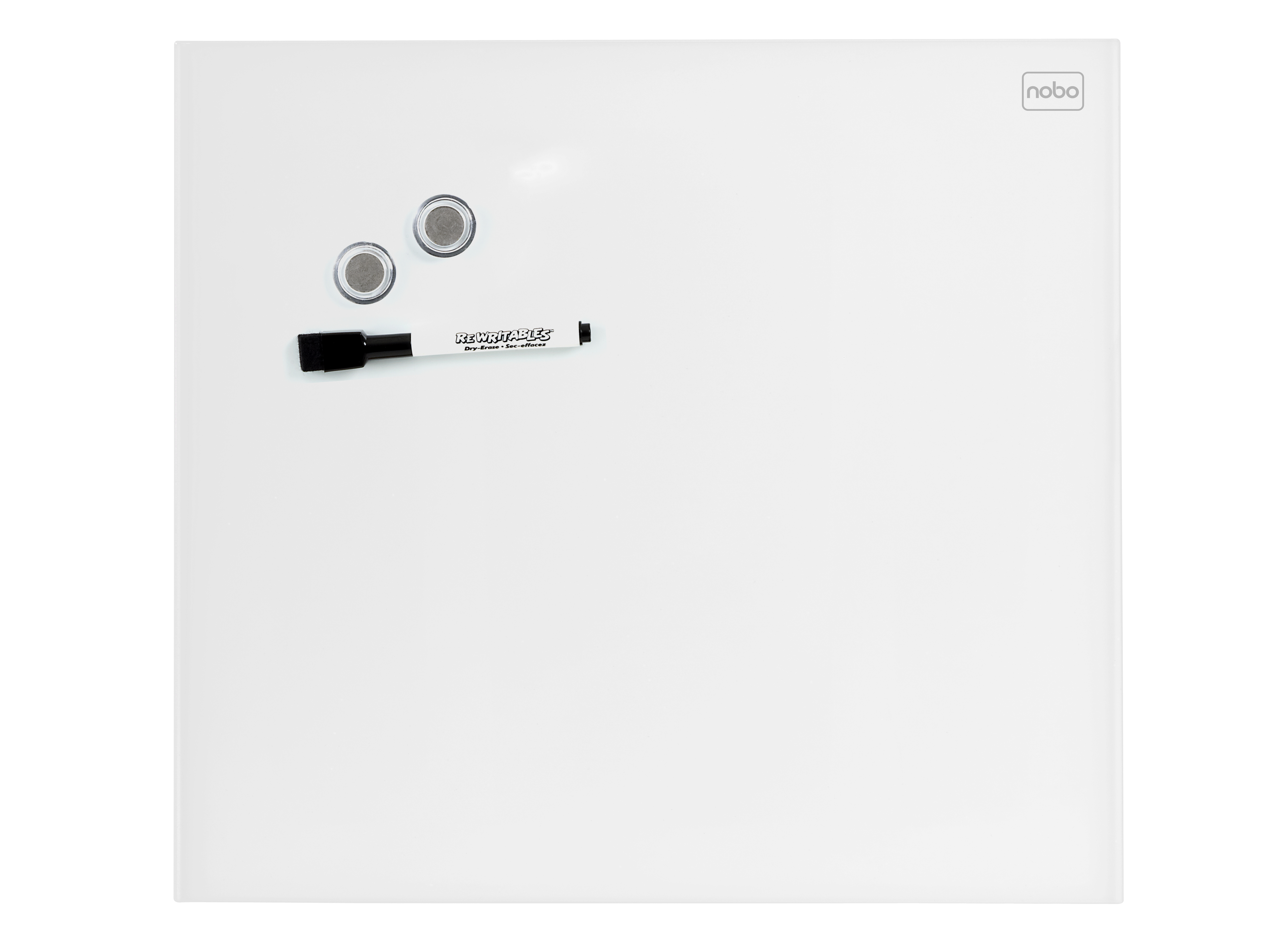 acco Nobo Diamond Drywipe Board Magnetic 300x300mm White Dd 1903956 - AD01