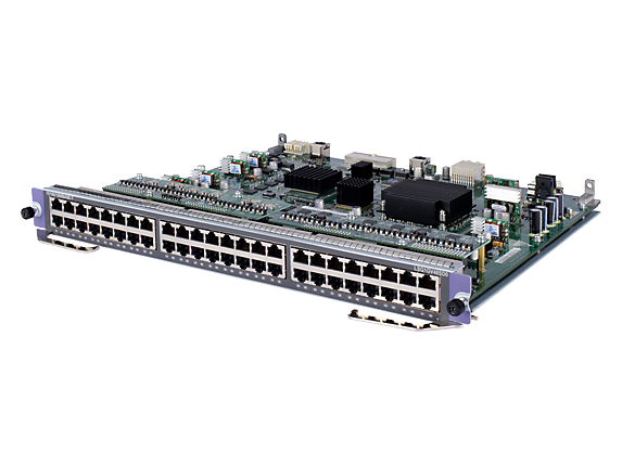 Hewlett Packard Enterprise Hpe - Expansion Module - Gigabit Ethernet X 48 - For Hpe 7502  7503  7503-s Switch With 1 Fabric Slot  7506  7506-v  7510 Jd229b - xep01
