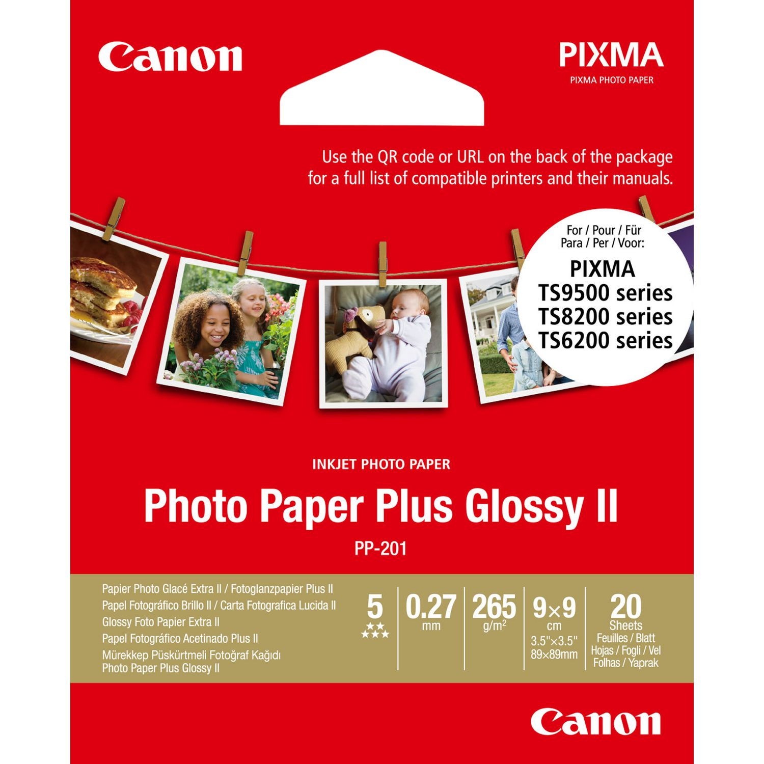 Photo Paper Plus Pp-201 2311b070 - WC01