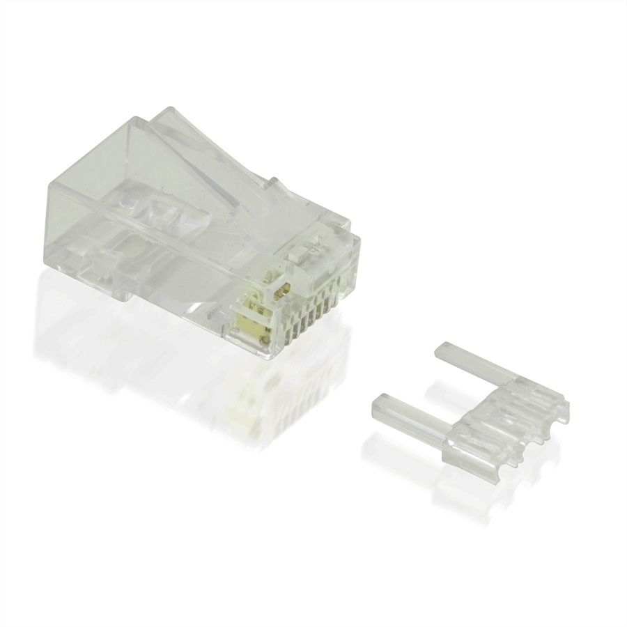21.99.3064 VALUE UTP Modular Plug. Cat6/6a. Stranded. 100pcs Factory Sealed