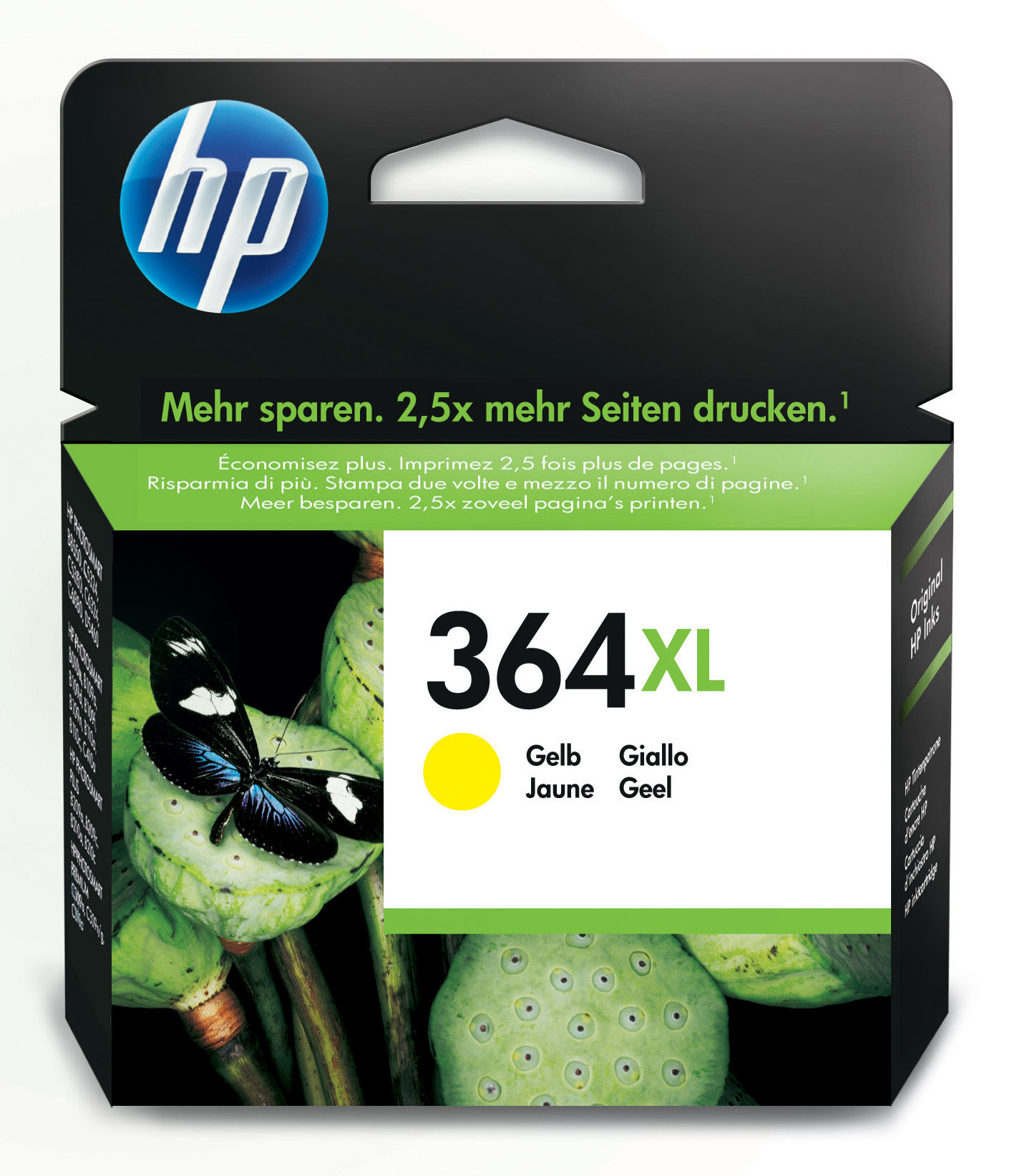 Cb325ee HP Hp Np.364xl Yellow Ink Cart - AD01